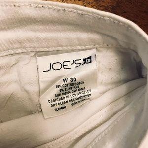 Joe's Jeans Shorts - Joes jeans white denim cutoff shorts